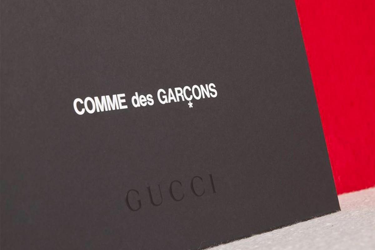 Gucci new Comme de Garcons capsule collection 2021